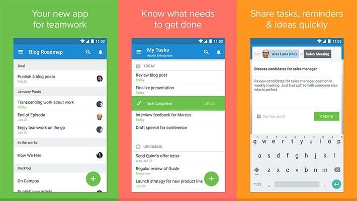 Asana best new android apps