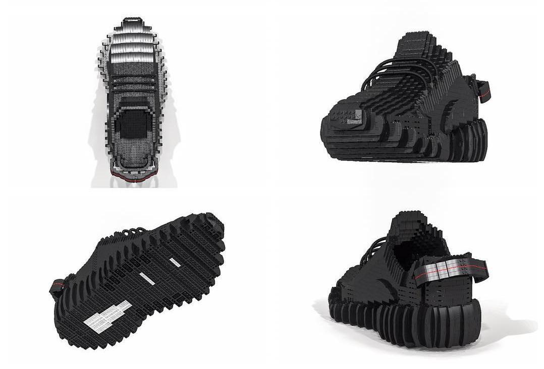 b698b640fee3bf Lego Adidas Yeezy Boost 350 Pirate Edition sneakers