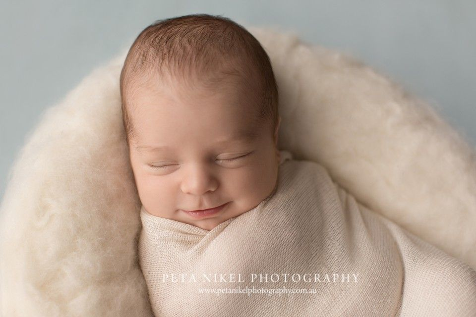Sweet baby gus hobart newborn photographer