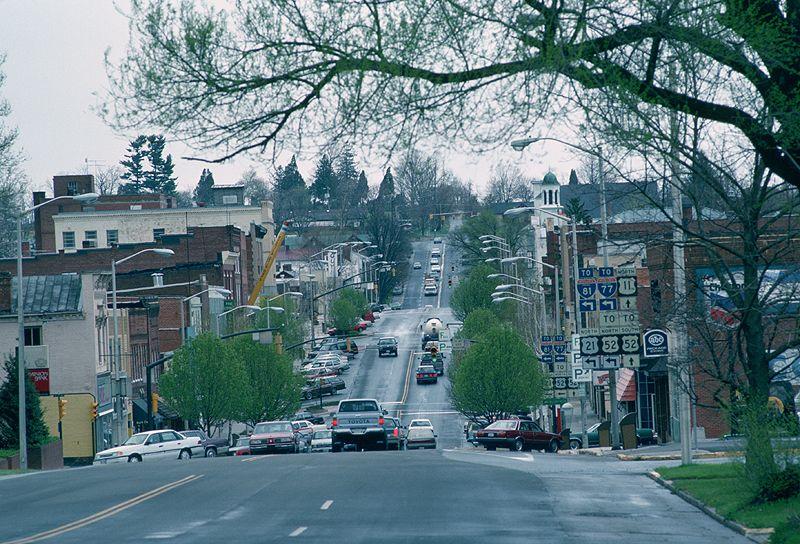 Main street wytheville va wytheville wythe county city