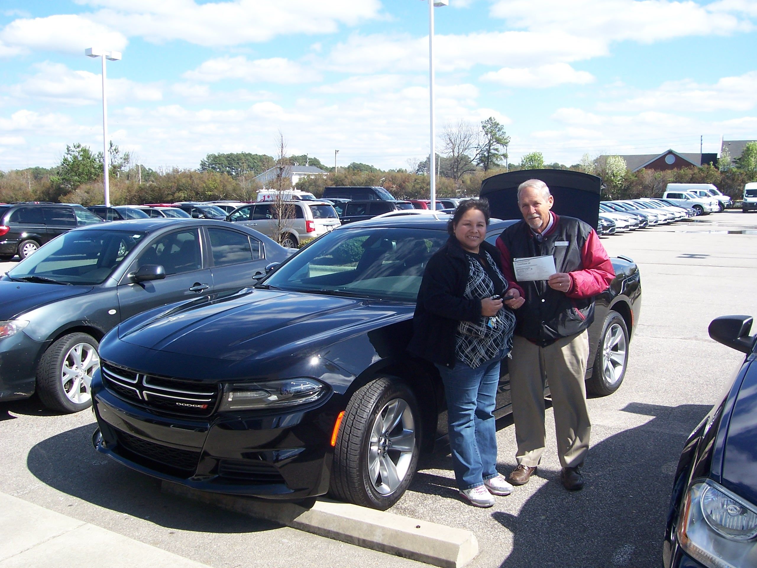 Matilde from Wilson NC is returning to Lee CDJR to her next car