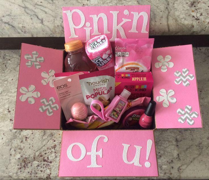 Pink'n of... #friendbirthdaygifts