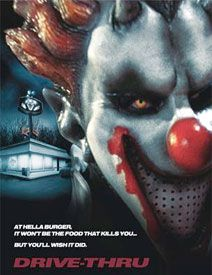 Horror Movie Clown Fast Food