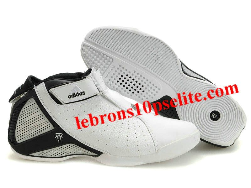 Adidas T Mac 4(IV) Tracy McGrady Shoes White/Black