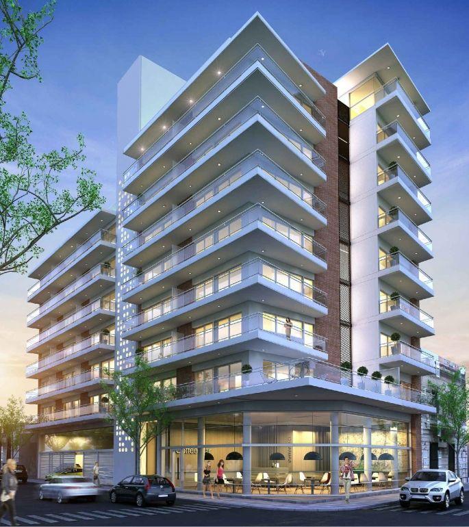 San Lorenzo: Av. San Martín 2257: Departamentos de 1 dormitorio, cocina comedor y baño. Ubicados sobre la principal avenida de la ciudad  en pleno centro comercial.<br /> Inmejorable vista al Río Paraná. Cercanía a grandes pulmones verdes. Una zona segura y de constante crecimiento. Conexion directa y en minutos con la ciudad de Rosario.<br /> Superficies exclusivas desde 42,80 m2 a 45,80 m2<br /> Superficies de balcones desde 10.50 m2 a 17,50 m2.<br /...