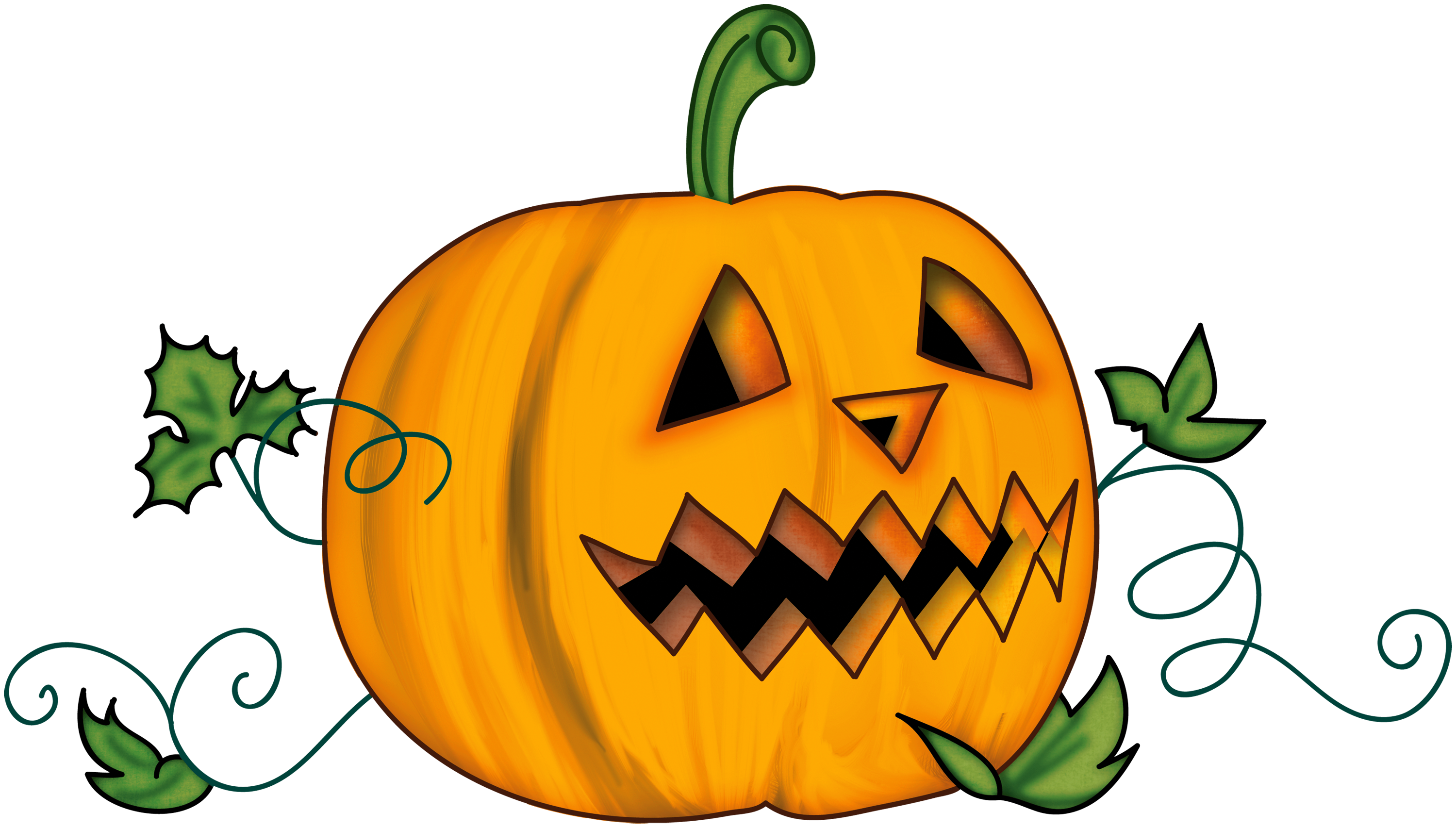 Transparent Halloween Clipart Halloween Pumpkin Clip Art