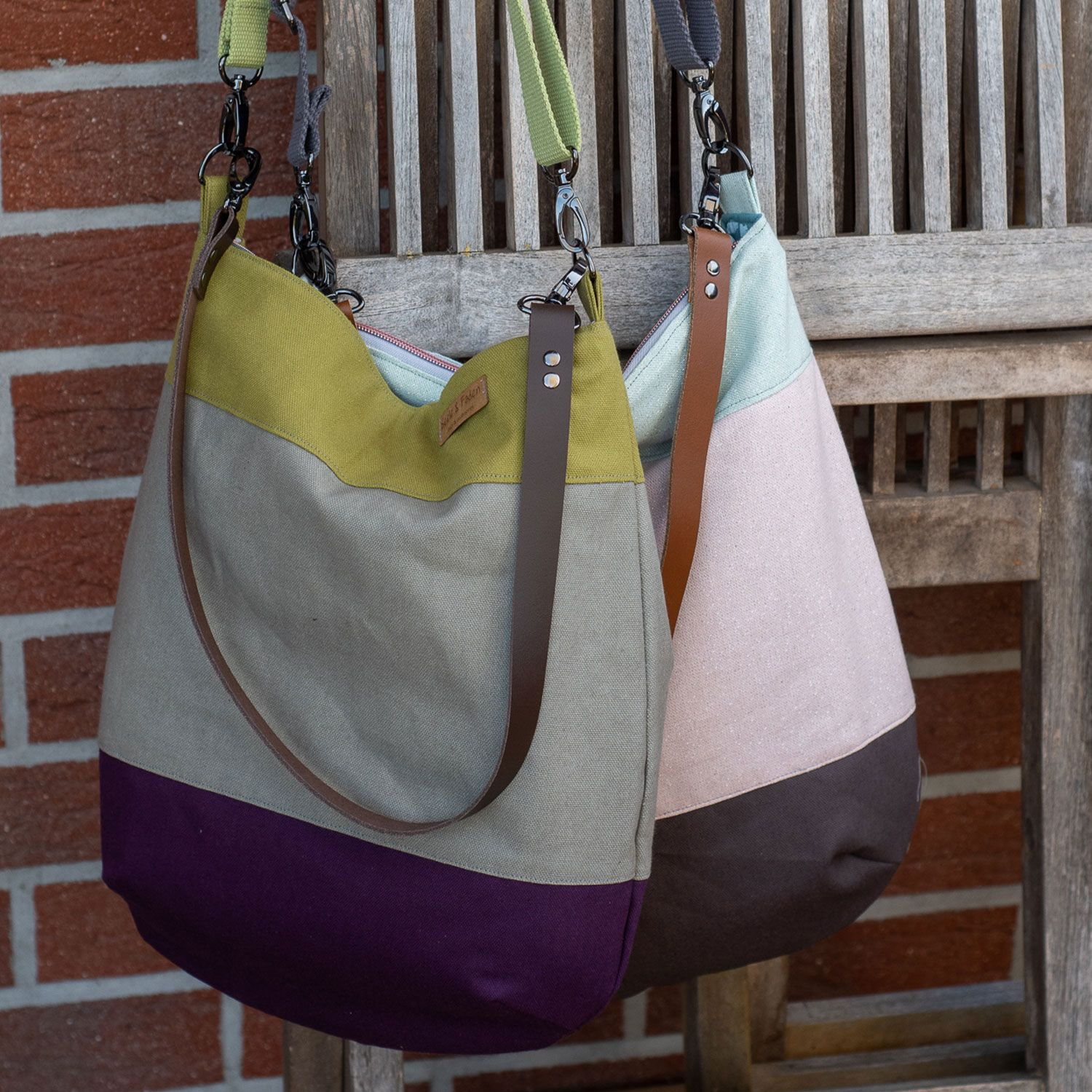 "Photo of Kostenloses Schnittmuster: Tasche ""Sole"" 