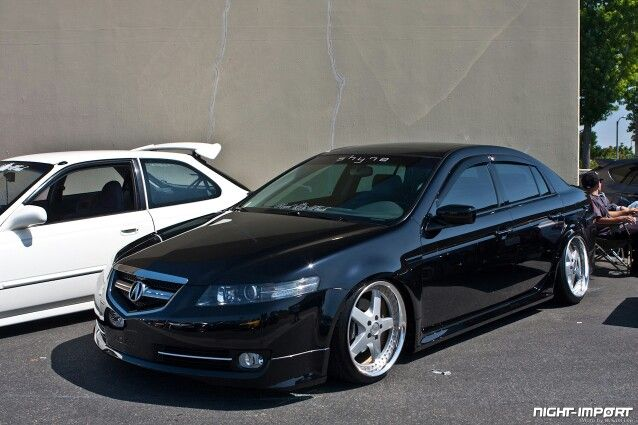 2006 acura tl s stanced and slammed pinterest 2006 acura. Black Bedroom Furniture Sets. Home Design Ideas