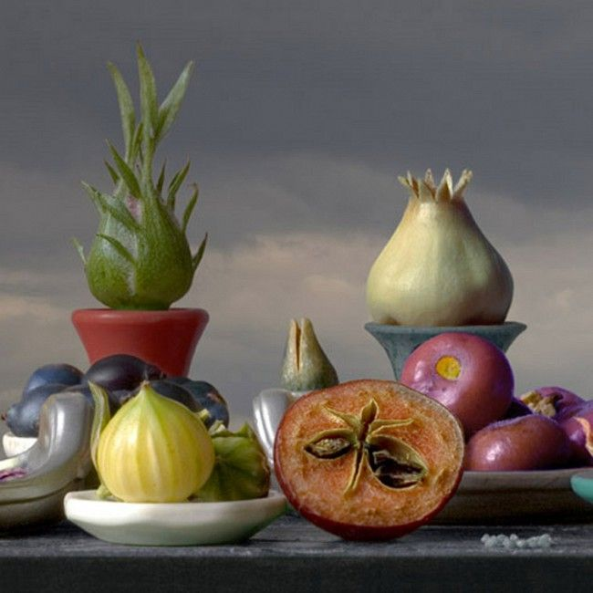 Otherworldly Still Life by Leticia Felgueroso - Detalle bodegon 2009 24 x 24 cm €225