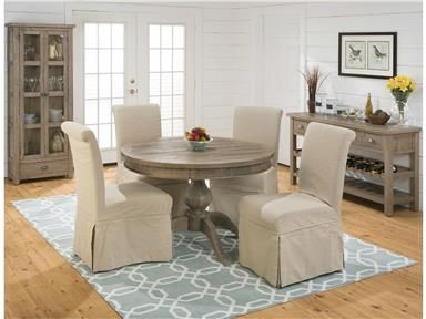 Shop For Jofran Reclaimed Pine Round To Oval Dining Top And Other Room Tables In Erie PA Meadville At Seiferts Furniture