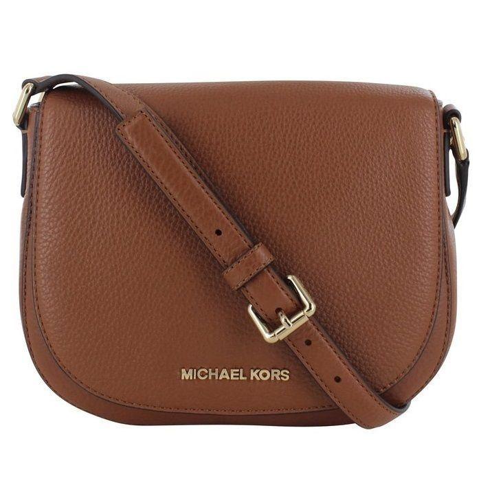 1758076ae712 Michael Kors Bedford Medium Luggage Flap Crossbody Handbag