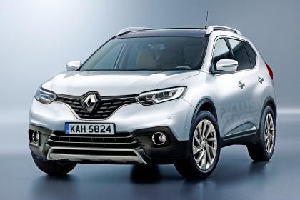 Renault crossover 7-seater, exclusive image