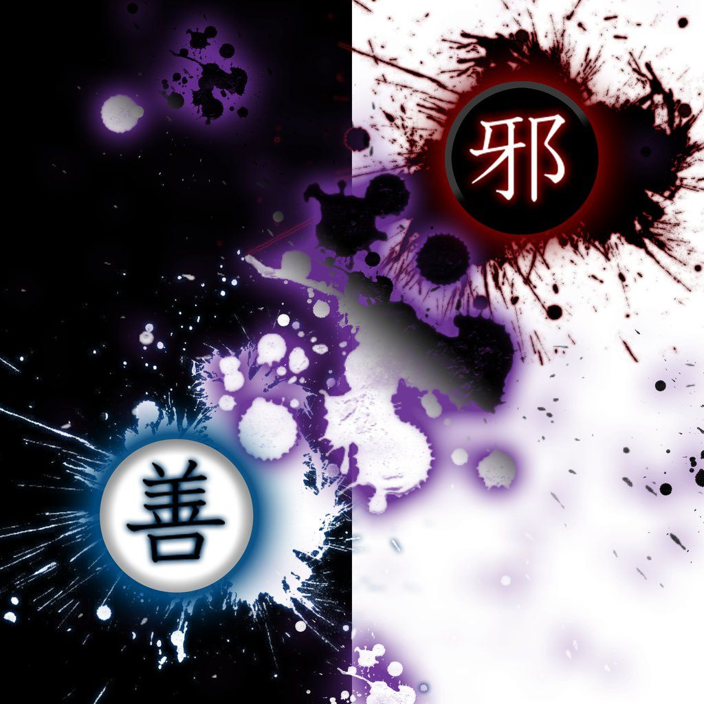 Good Vs Evil By Yohkai Equivalents Opposites Of Each Other