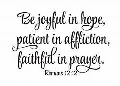 romans 12:12 - - Yahoo Image Search Results