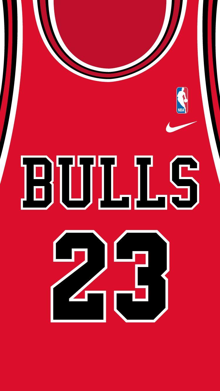 Michael Jeffrey Jordan Red Jersey Iphone 6 Michael Jordan Nba Chicago Bulls Wallpaper