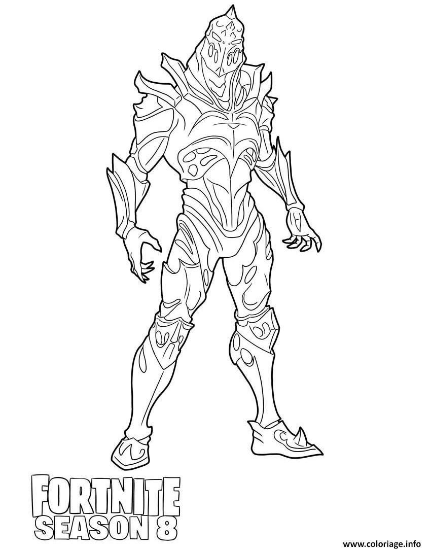 coloriage ruin detailed skin from fortnite season 8 224