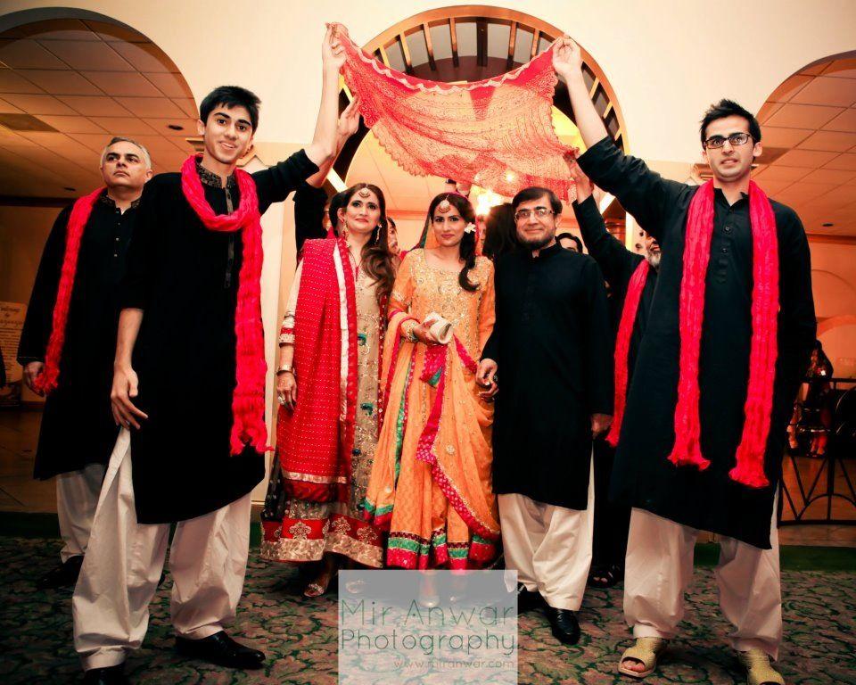Mehndi Dulhan Brothers Cousins Family Shaadi Pakistani Meri