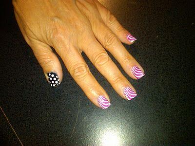 Hello Kitty manicure? Check ...