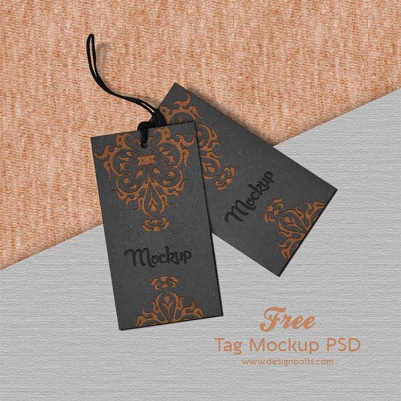 Clothing Or Price Tag Mockup Design Mockup Free Photoshop