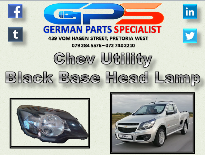 Chev Utility Black Base Head Lamp For Sale Lamps For Sale Opel Used Parts