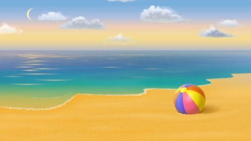 Beach Ball Hd Desktop Wallpaper Abba Heaven Pinterest
