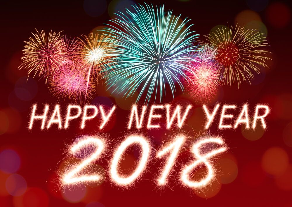 happy new year my friends i wish you slim figure and all the best in 2018