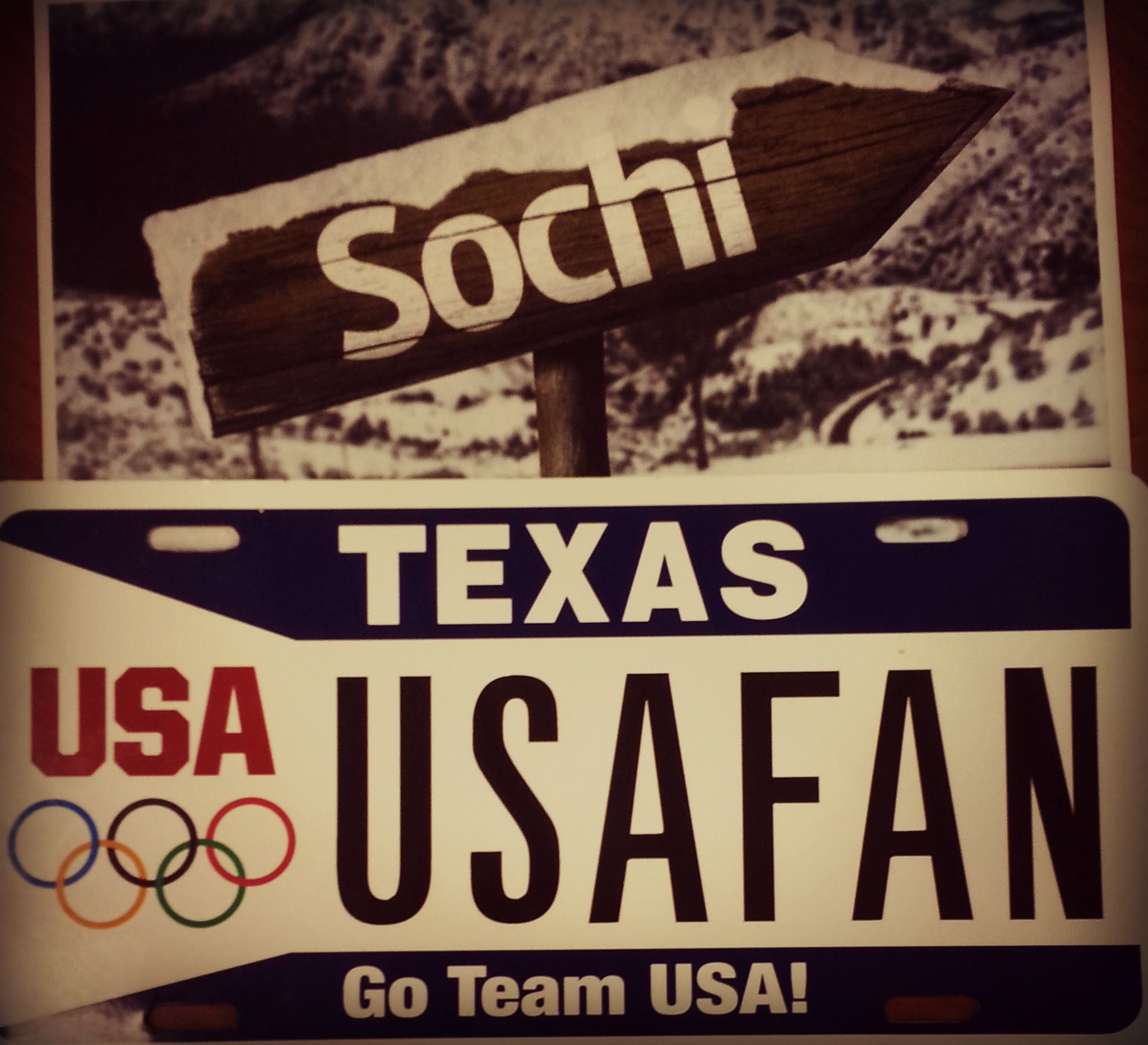 This is for all our #Texas boys in #Sochi2014, we're so proud of you guys!