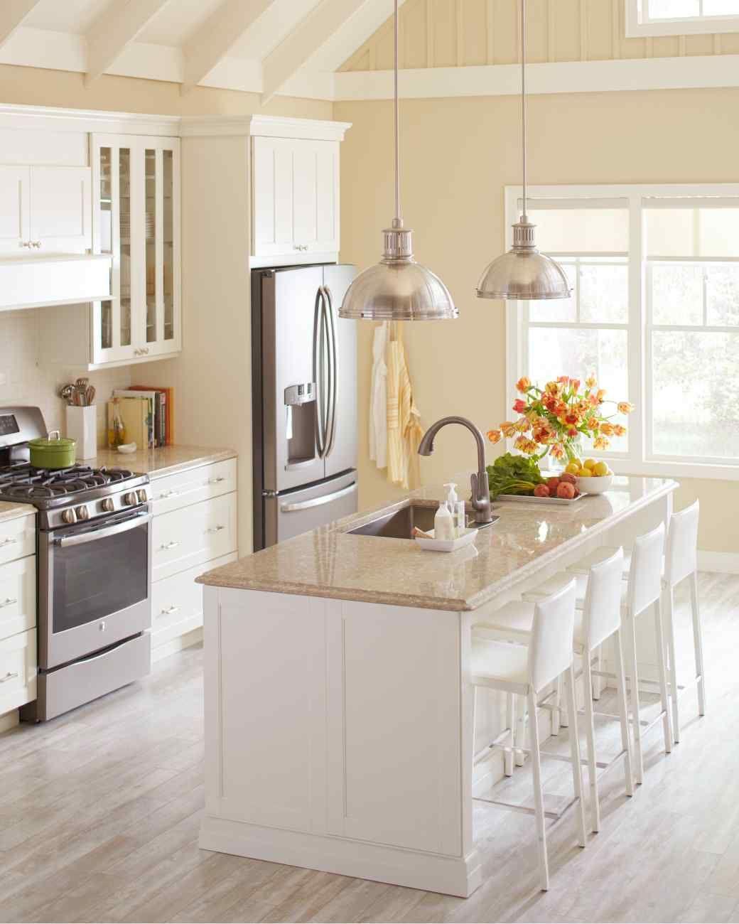 Quick Kitchen Upgrades That Won T Break The Bank Beige Kitchen Quartz Kitchen Countertops Corian Countertops