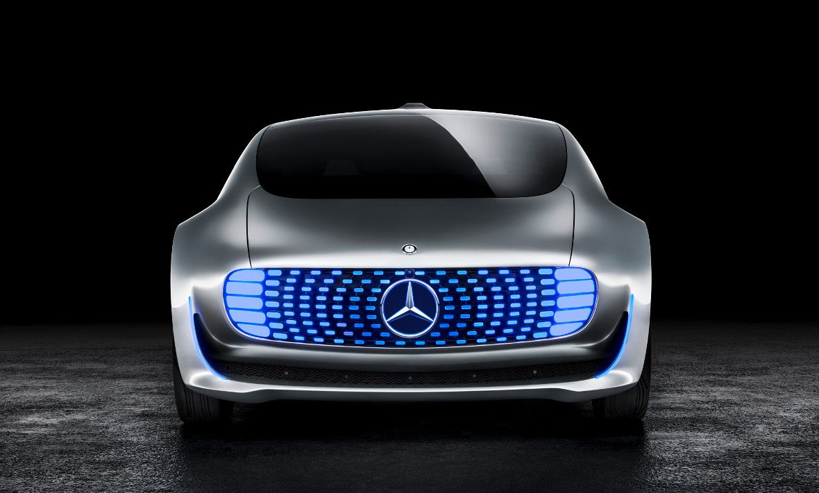 The mercedes benz f 015 luxury in motion