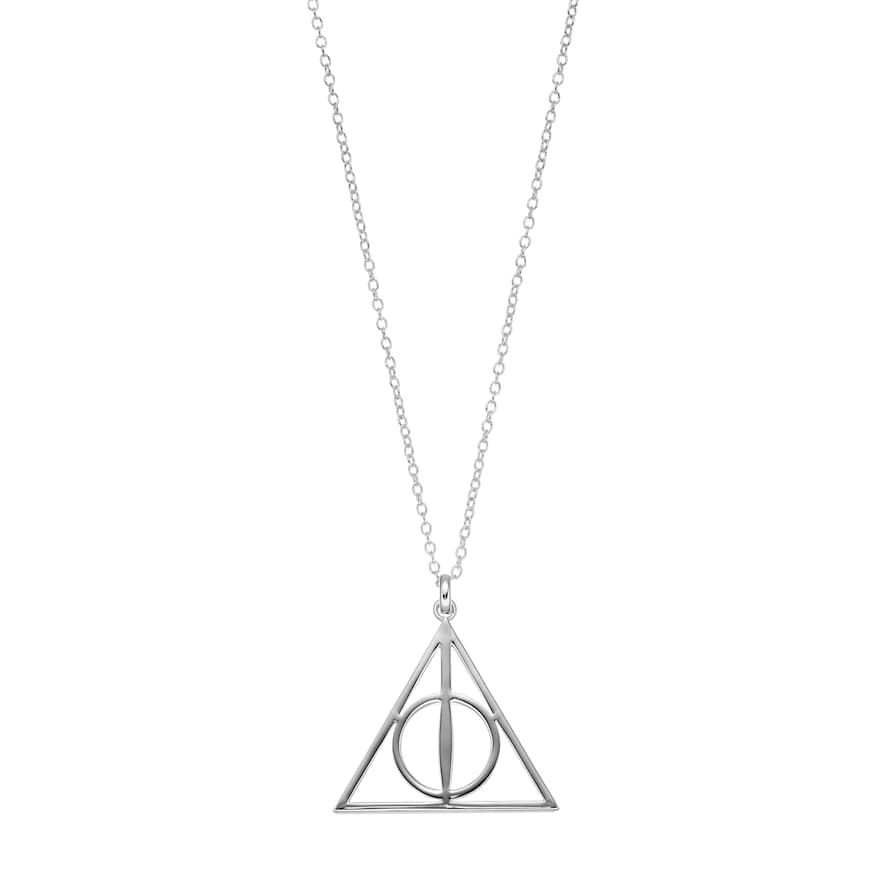 Magical Fantasy Charm Deathly Hallows Pendant Necklace Silver Color