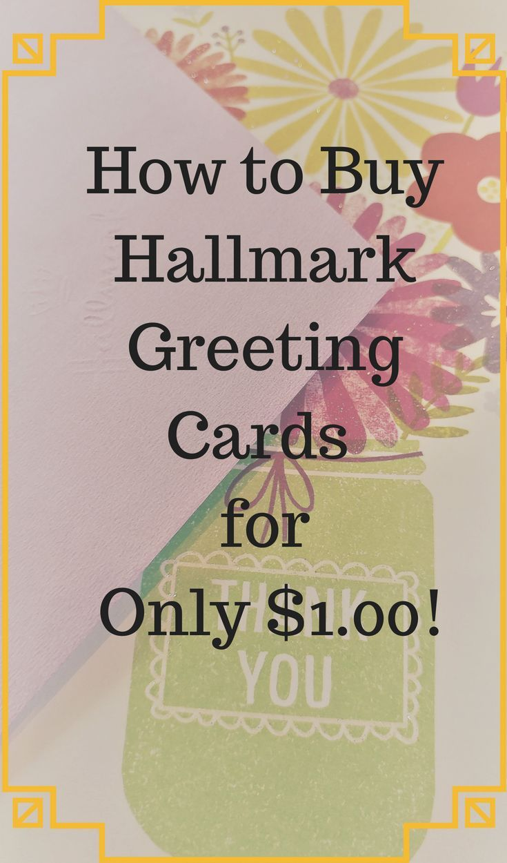 Where Can You Find Hallmark Greeting Cards For Just 100 Only At