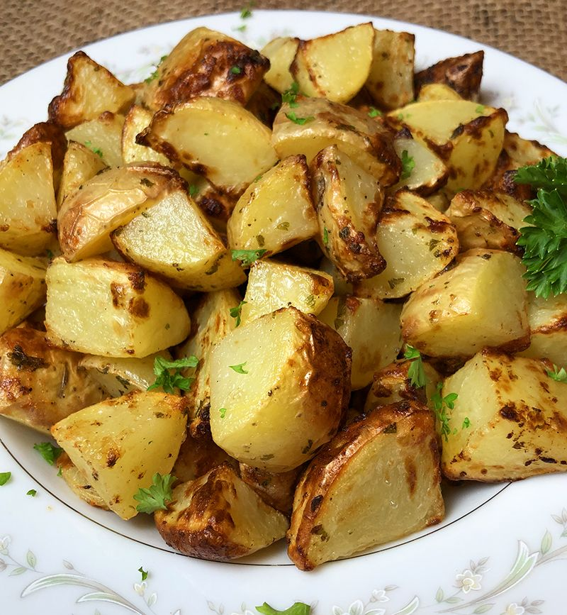 Air Fryer Roasted Ranch Potatoes Recipe Roasted ranch