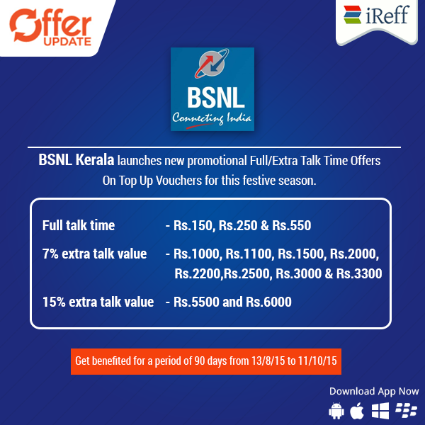 Recharge now and get benefited! BSNL Kerala launches new