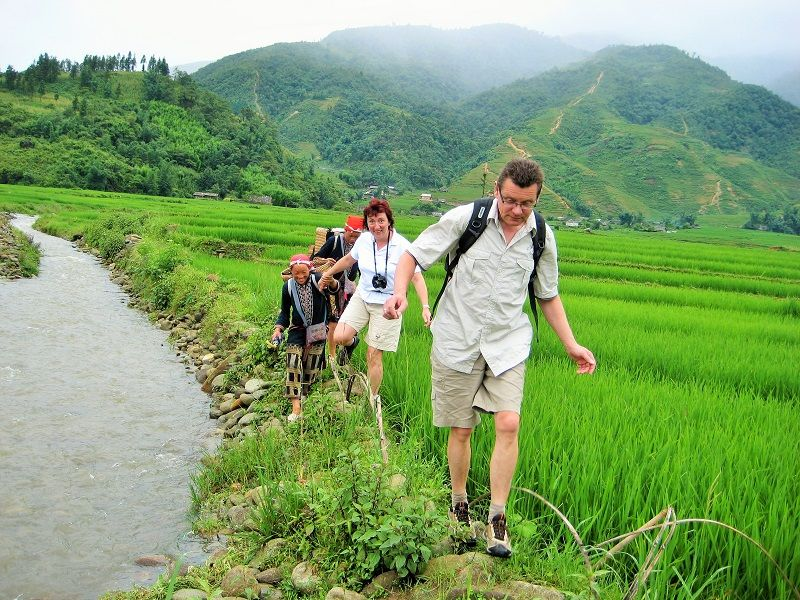 #Trekking throught Muong Hoa Valley with Vietnam Typical Tours