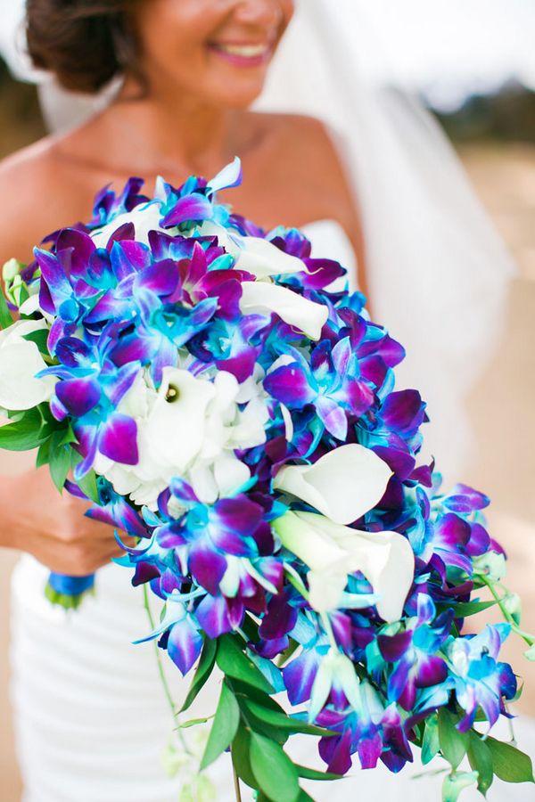 Cobalt Blue Kauai Island Wedding