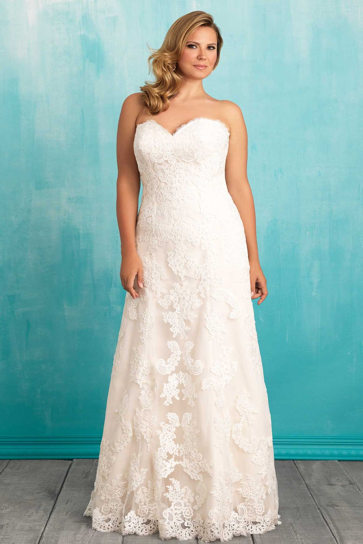 Allure W370 | PLUS SIZE wedding dresses around the world | Pinterest ...