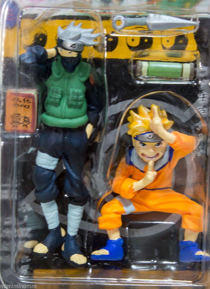 Naruto Kakashi Hatake Weekly Shonen Jump Original Figure Set