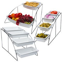 Buffet Display Stands Catering Display Stands Buffet Display Stands for Restaurant and 10