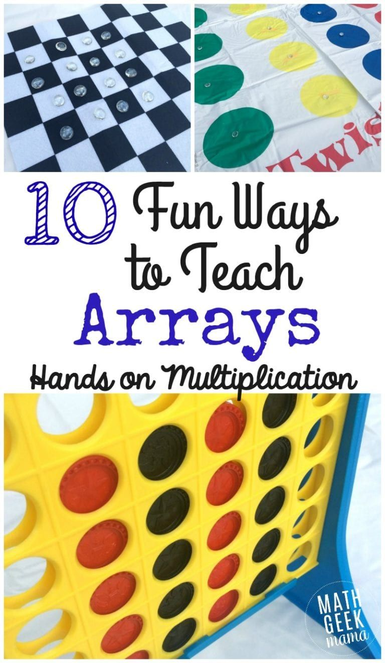 Learning Multiplication with Arrays Learning
