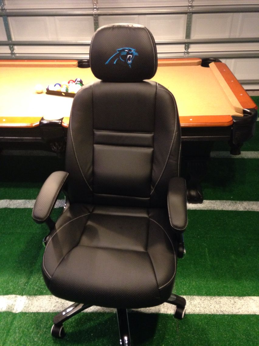 Carolina Panthers Chair Purchased From Staples