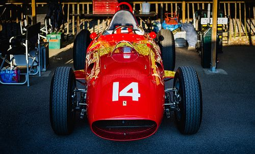 Tony Smith - 1958 Ferrari 246 Dino F1 Monoposto at the 2015... ferrari style luxury design reblog photography