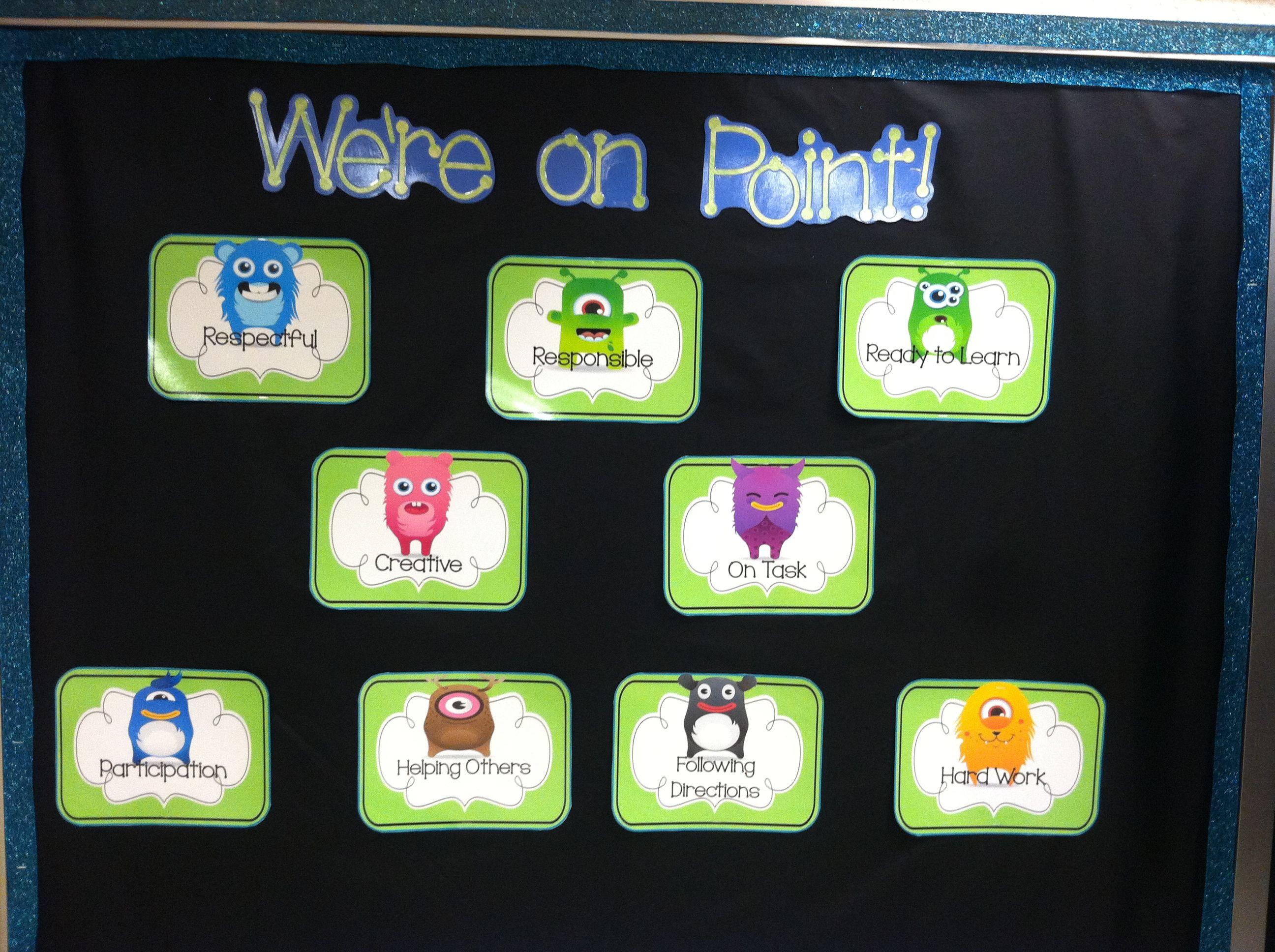 Class Dojo Positive Behavior Bulletin Board With Images