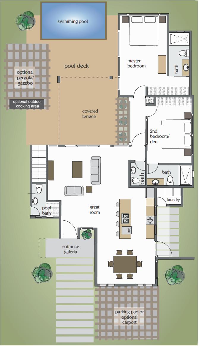 Floor Plan Villa Horizonte Abeach House Under 250 000 Us Villa