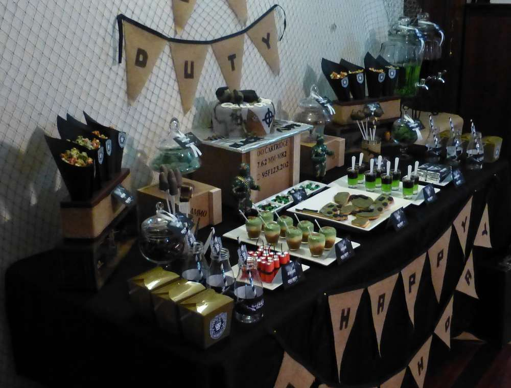 Call Of Duty Black Ops Birthday Party Ideas Birthday Party Ideas