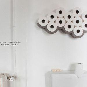 Lyon Beton Cloud Etagere Pour Papier Toilette 10 Rangement Papier