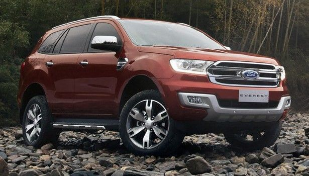 2016 Ford Everest - exterior