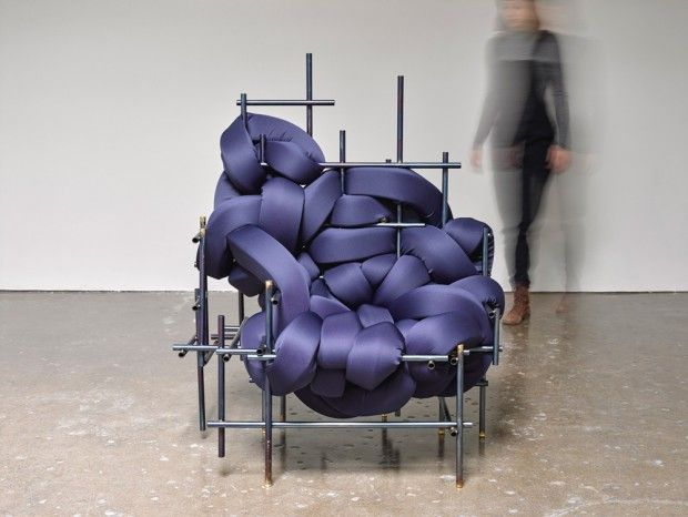Lawless Bench  Chair par Aratani · Fay au Salone Satellite 2017