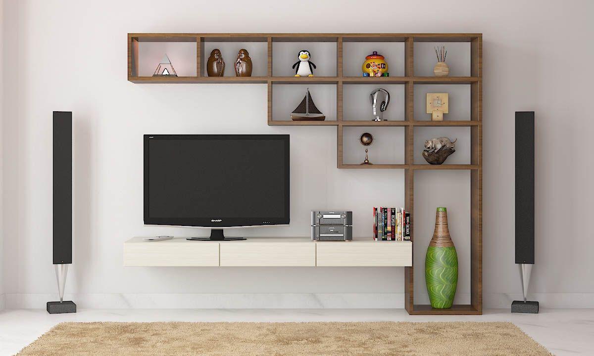 Skyler Entertainment Unit | TV wall | Pinterest | Tv unit online ...