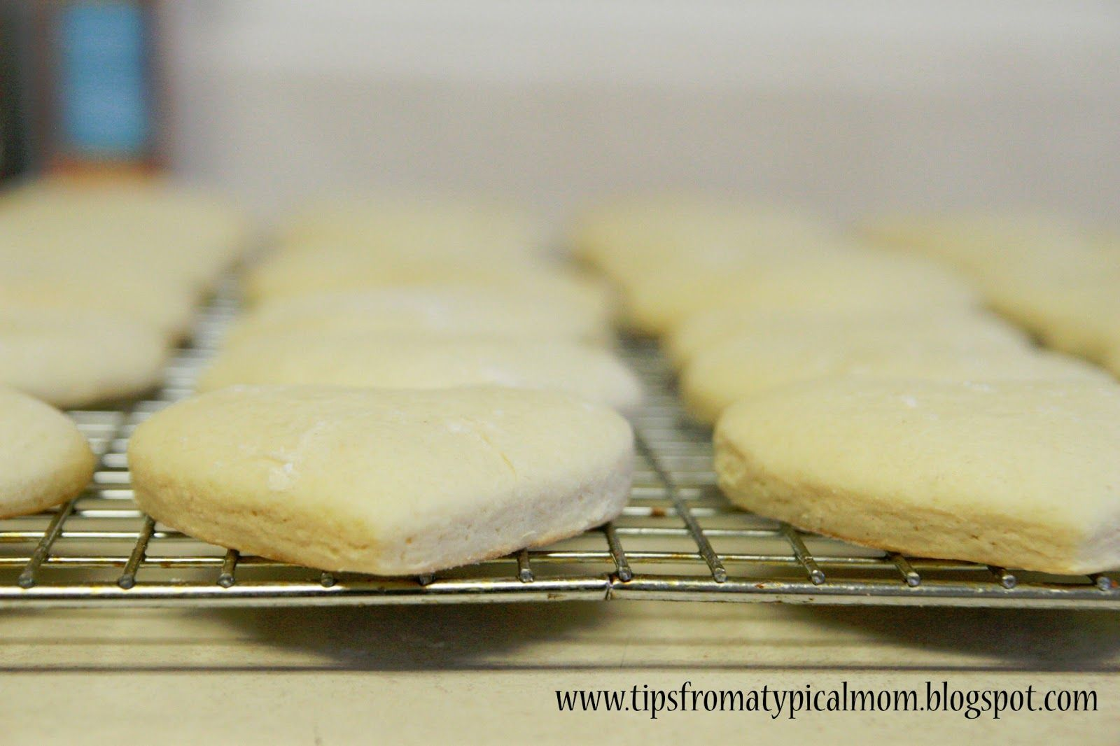 {Lofthouse or Granny B's} Puffy Frosted Sugar Cookies Recipe - Tips from a Typical Mom