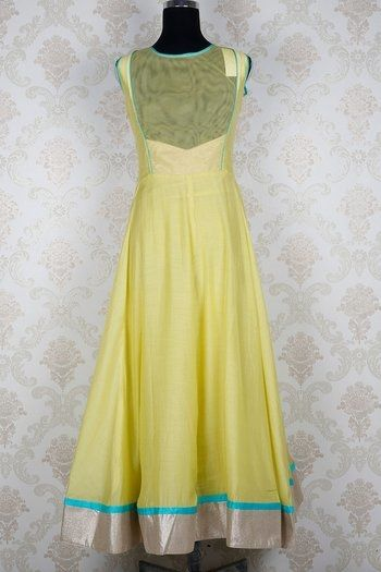 Back design of Silk alluring kameez